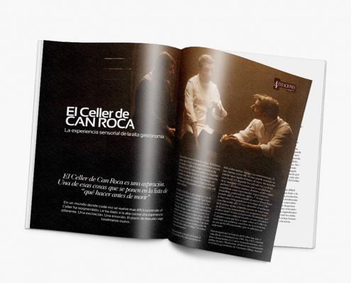 diseño editorial revista 4 estaciones adecoa
